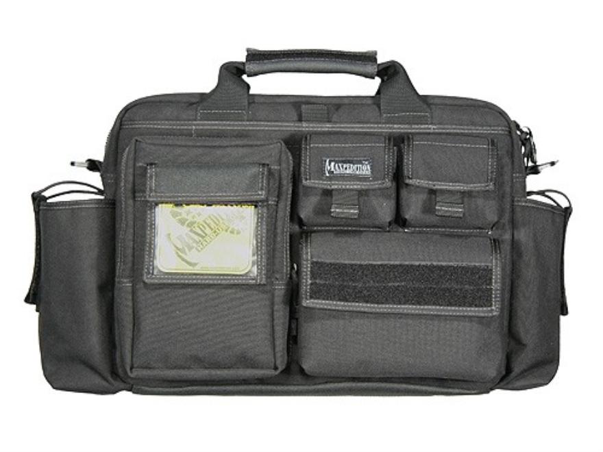 Maxpedition Operator Tactical Attache Case Nylon Black