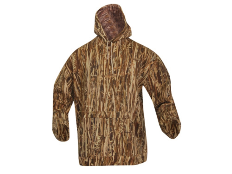 Avery Hooded Sweatshirt Cotton Marsh Grass Camo Large