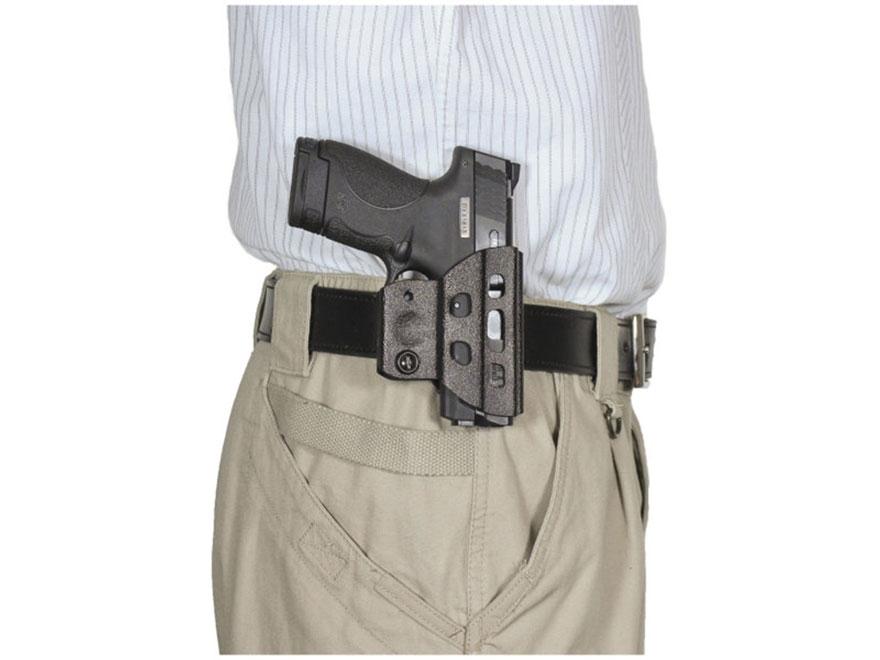 Desantis Champ Belt Holster Ambidextrous Glock 17, 19, 22, 23, 26, 27 Black Polymer