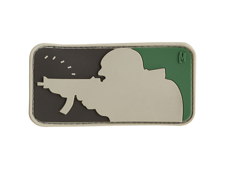 "Maxpedition Major League Shooter PVC Patch 3"" x 1.6"""