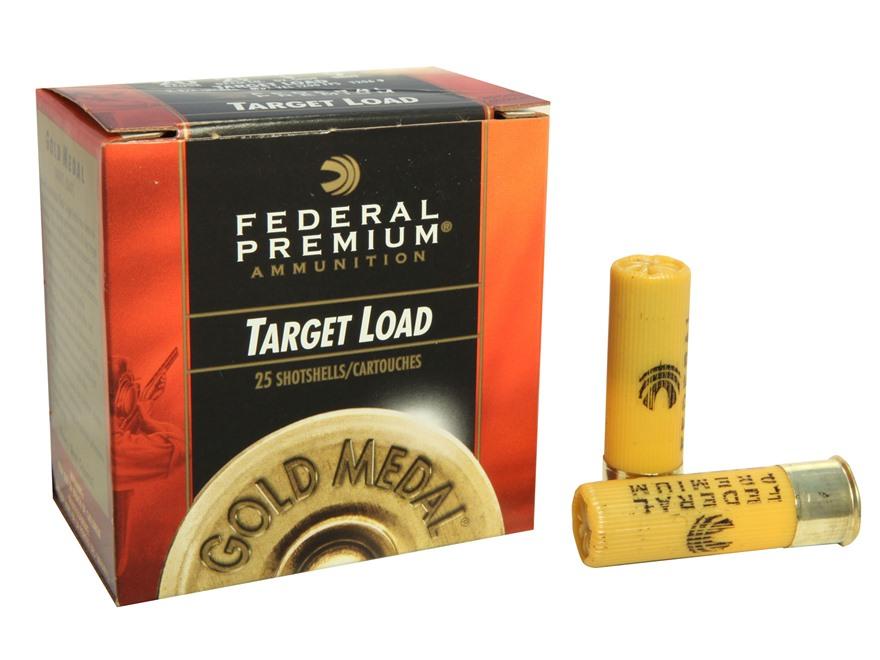 """Federal Premium Gold Medal Ammunition 20 Gauge 2-3/4"""" 7/8 oz #9 Shot"""