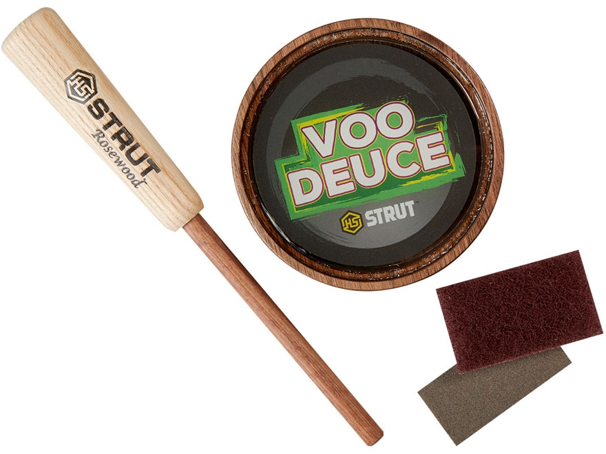 H.S. Strut VOO Deuce Glass Turkey Call