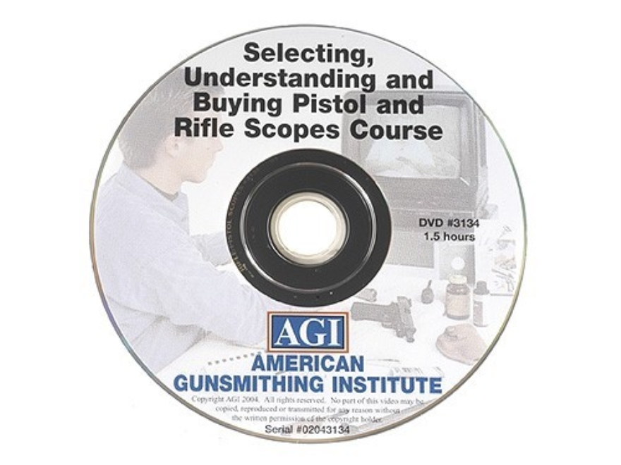"American Gunsmithing Institute (AGI) Video ""Selecting, Understanding and Buying Rifle a..."