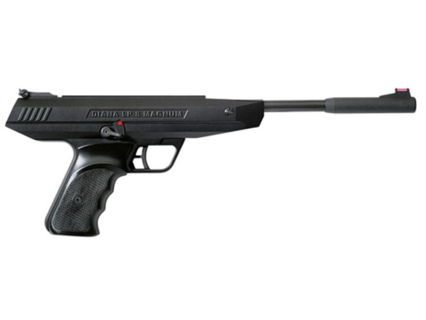 RWS LP8 Break Barrel Air Pistol 177 Caliber Pellet Black