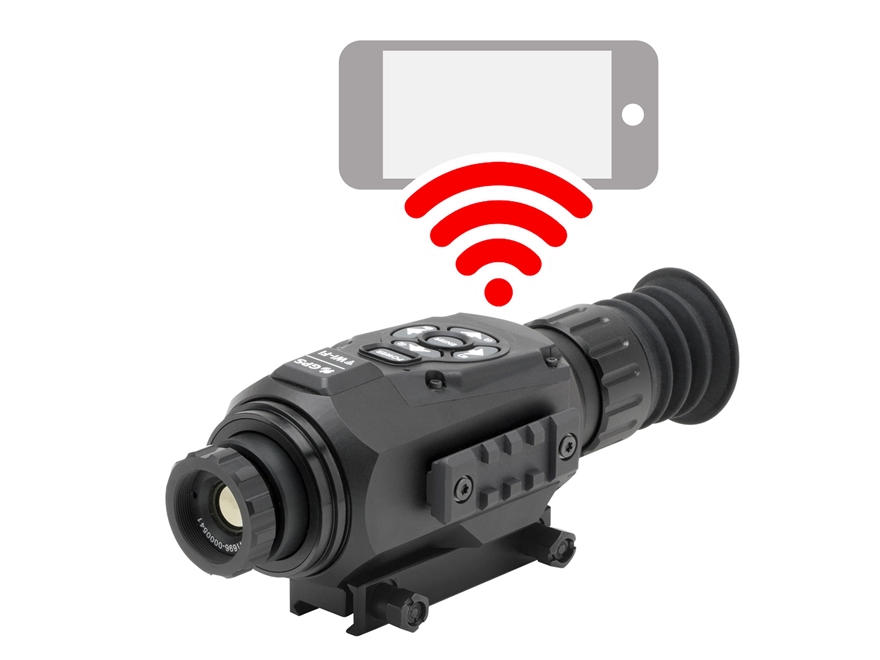 ATN ThOR HD Thermal Rifle Scope 2-8x 25mm 384x288 with HD Video Recording, Wi-Fi, GPS, ...