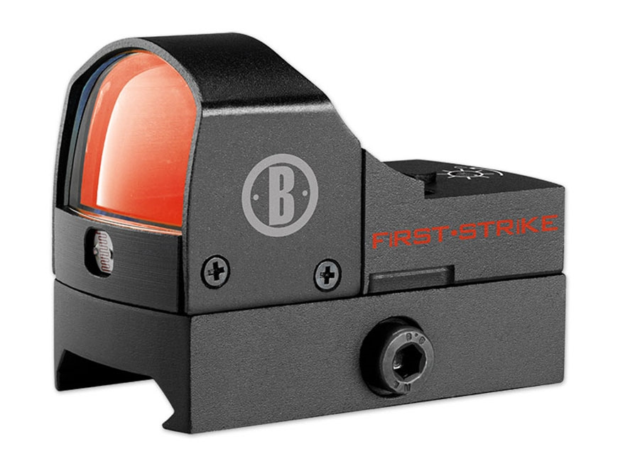 Bushnell First Strike Red Dot Sight 5 MOA Dot Matte with picatinny mount