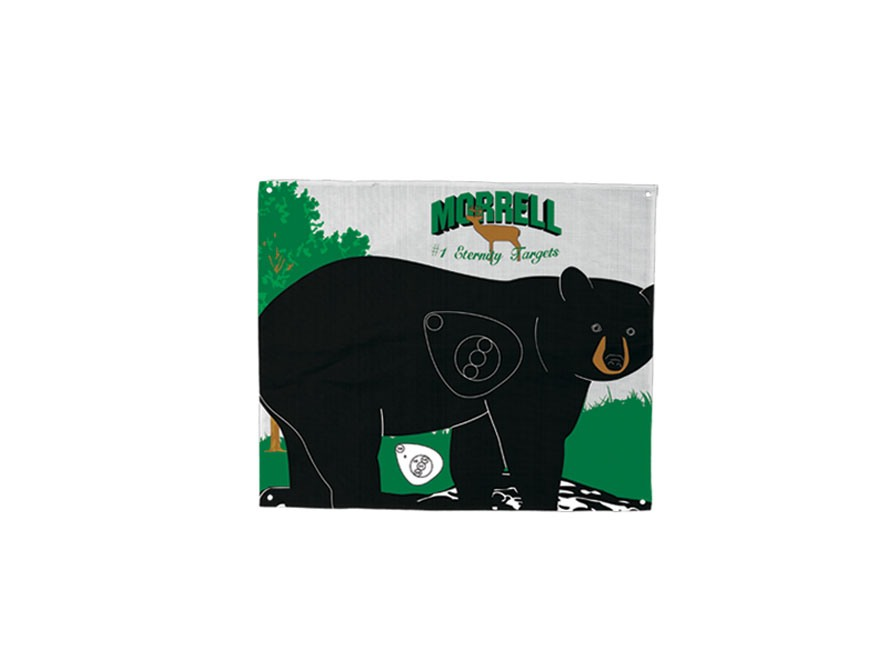 Morrell Polypropylene Archery Target Face Walking Bear