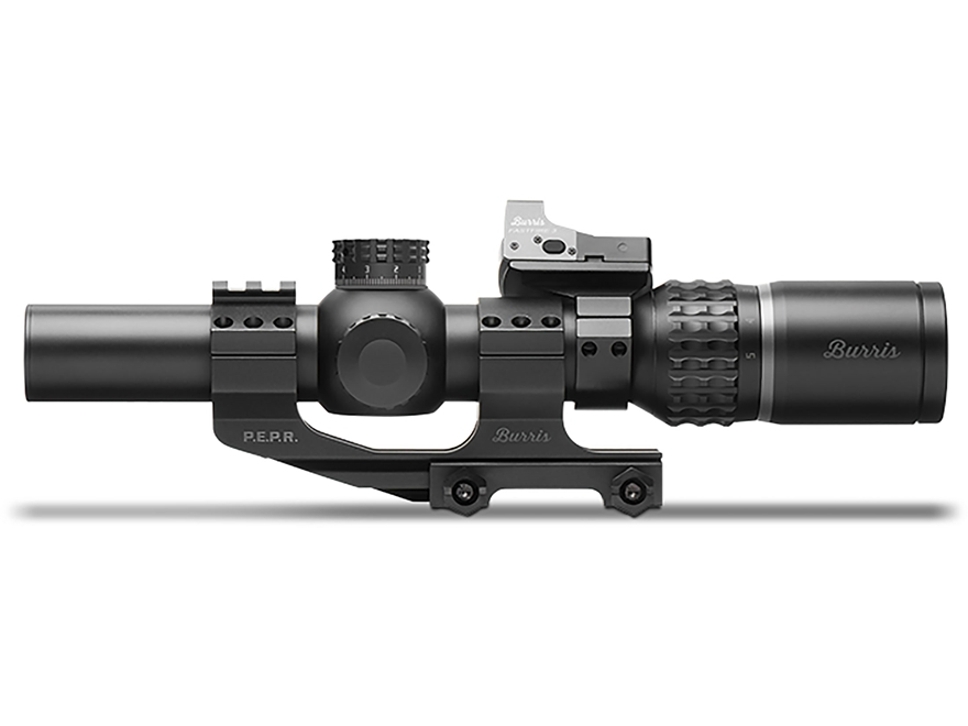 Burris Xtreme Tactical XTR II Rifle Scope 30mm Tube 1-5x 24mm 1/10 Mil Adjustments Quad...