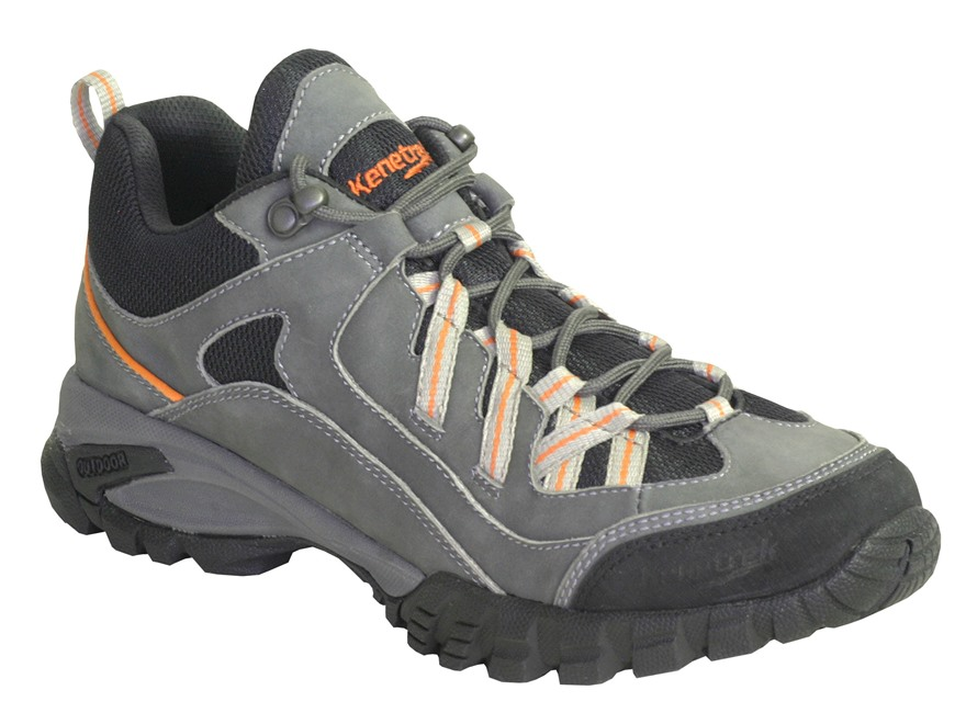 "Kenetrek Bridger Ridge 4"" Uninsulated Hiking Boots Leather and Nylon Gray Men's"
