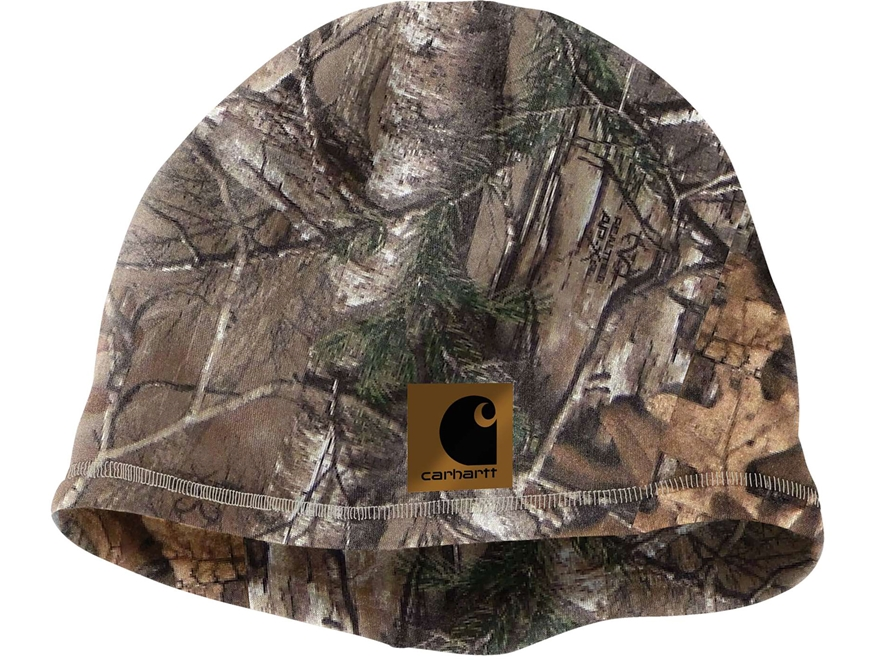 Carhartt Men's Force Lewisville Beanie Polyester Realtree Xtra Camo
