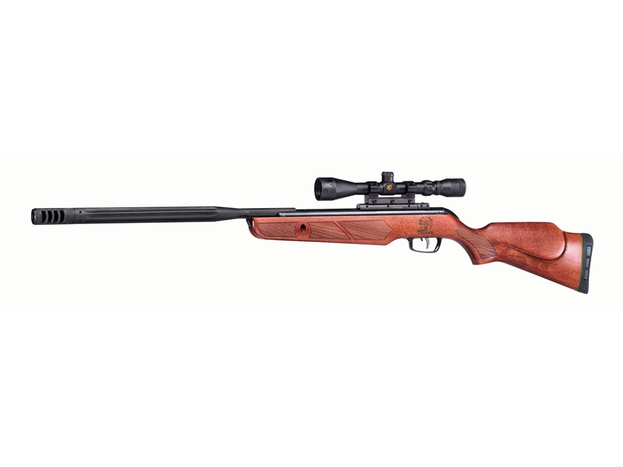 Gamo Bone Collector Hunter Break Barrel Air Rifle 22 Caliber Pellet Brown Wood Stock Ma...