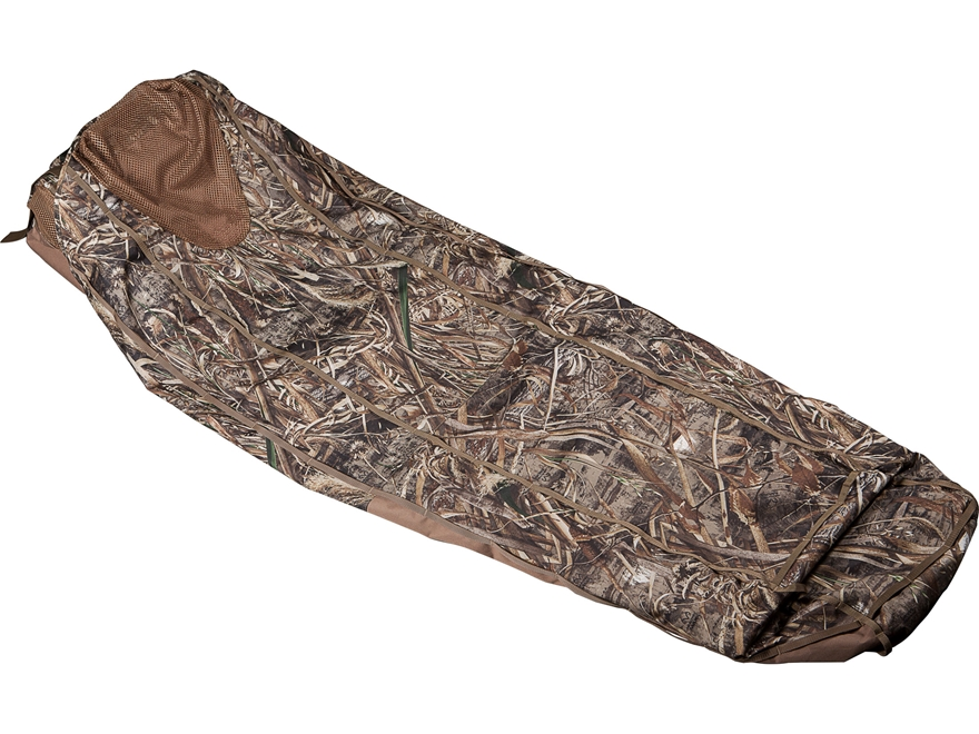 Final Approach Eliminator One Shot Layout Blind Realtree Max-5 Camo