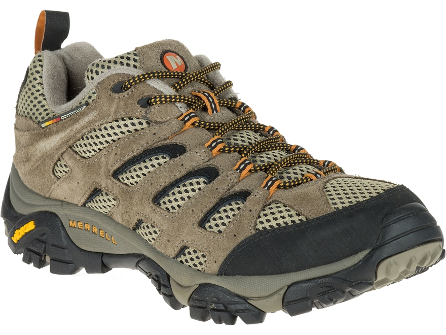 "Merrell Moab Vent Low 4"" Hiking Shoes Leather and Mesh Men's"