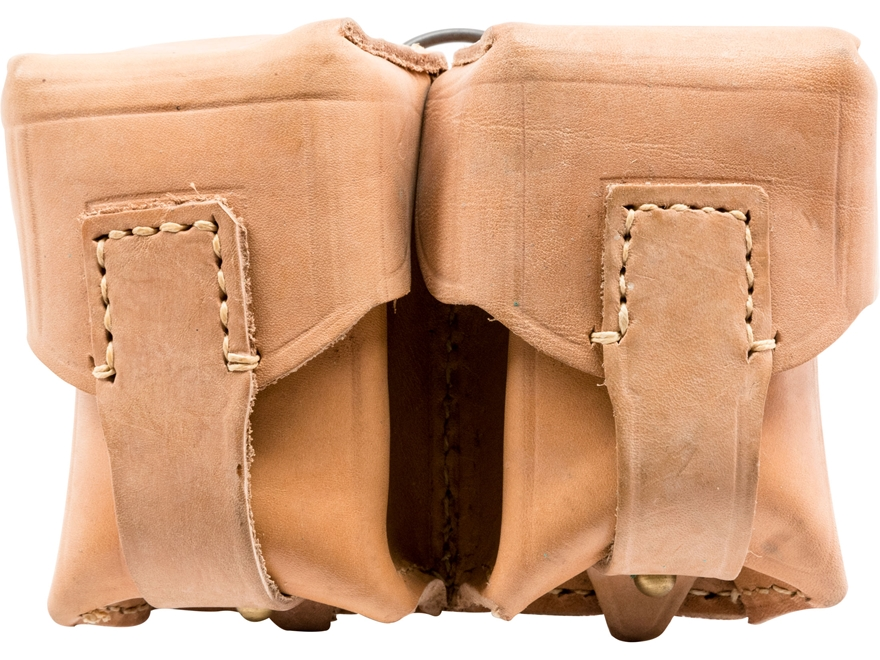 Military Surplus Serbian Cartridge Pouch Grade 2 Leather