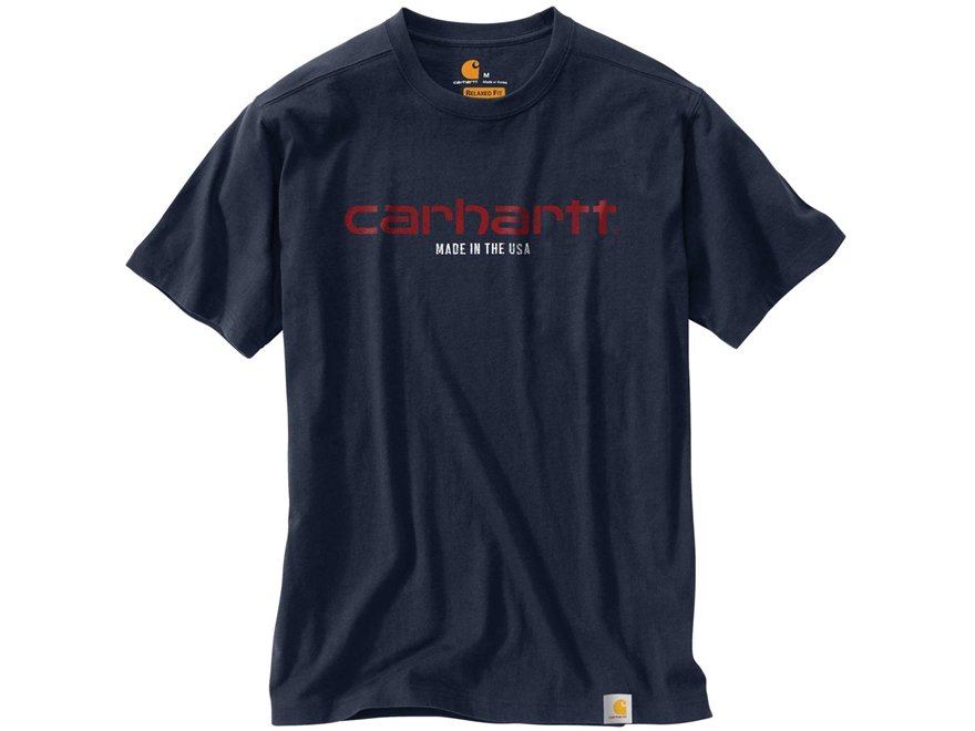 Carhartt Men's Lubbock Graphic Made in USA T-Shirt Short Sleeve