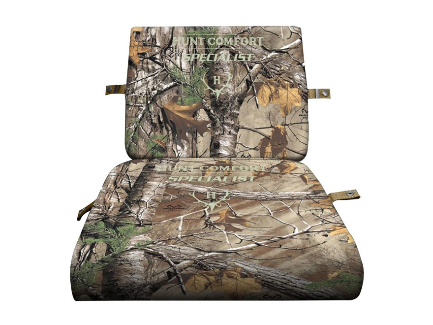 Hunt Comfort GelCore Series Specialist Folding Hunting Seat Realtree Xtra Camo