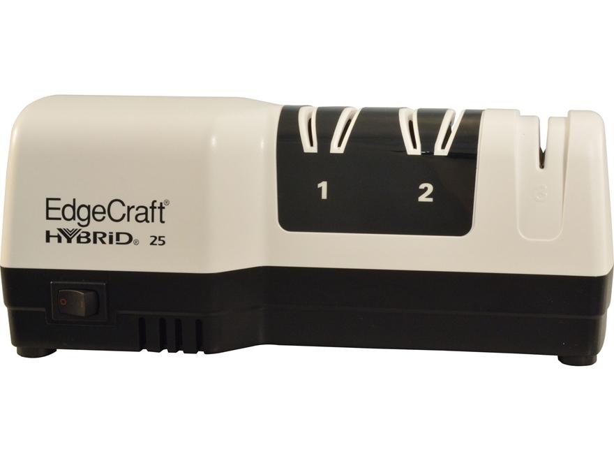 Chef's Choice M25 EdgeCraft Three Stage Hybrid Diamond Hone Knife Sharpener White