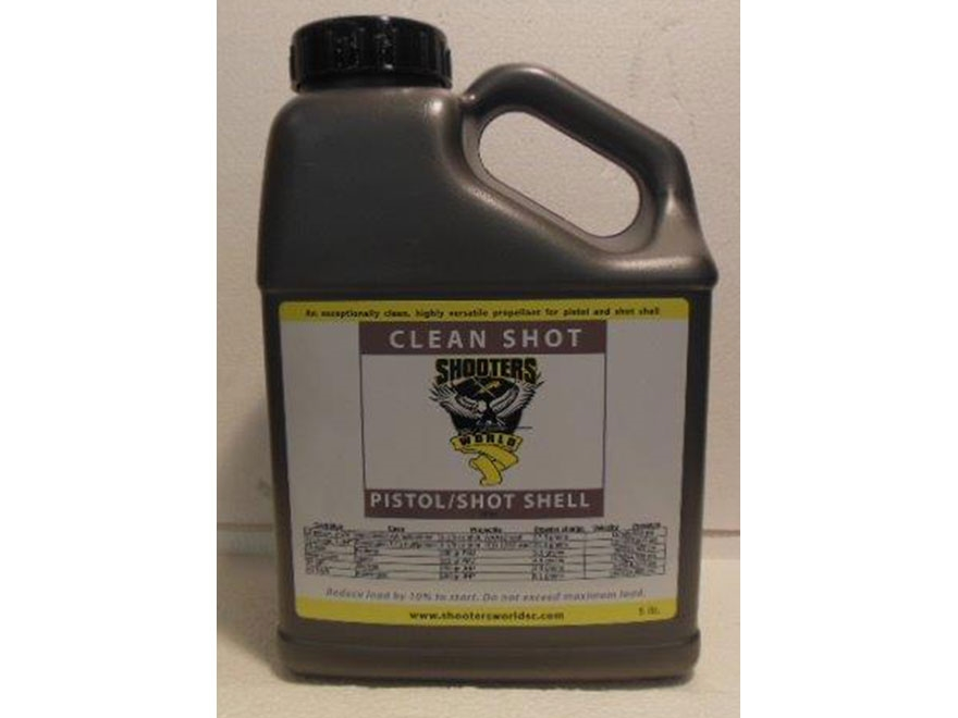 Shooter's World by Lovex Clean Shot D032-03 Smokeless Gun Powder