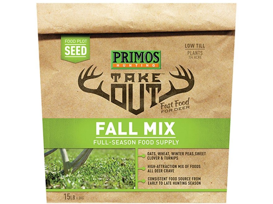 Primos Take Out Fall Mix Food Plot Seed 15 lb