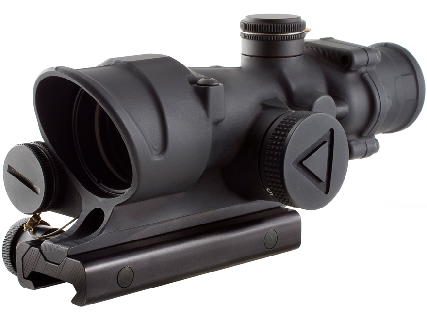 Trijicon ACOG TA02 BAC Rifle Scope 4x 32mm Battery LED Illuminated with TA51 Flattop Mo...