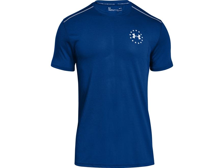 Under Armour Men's UA Freedom Streaker T-Shirt Short Sleeve Polyester