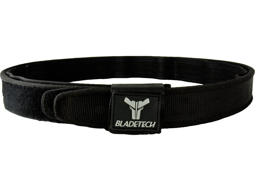 "Blade-Tech Competition Double Belt 1-1/2"" Nylon Black"