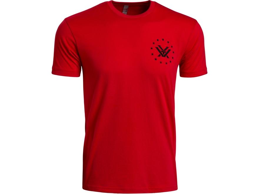 Vortex Optics Men's R.E.D. Logo T-Shirt Cotton/Polyester Red