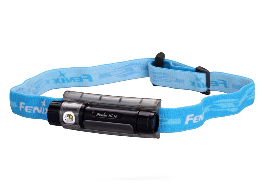 Fenix HL10 Headlamp LED with 1 AAA Battery Aluminum and Polymer Black