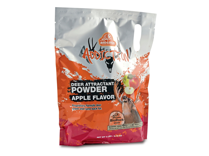 BioLogic Whitetail Addiction Apple Deer Supplement Powder 5lb