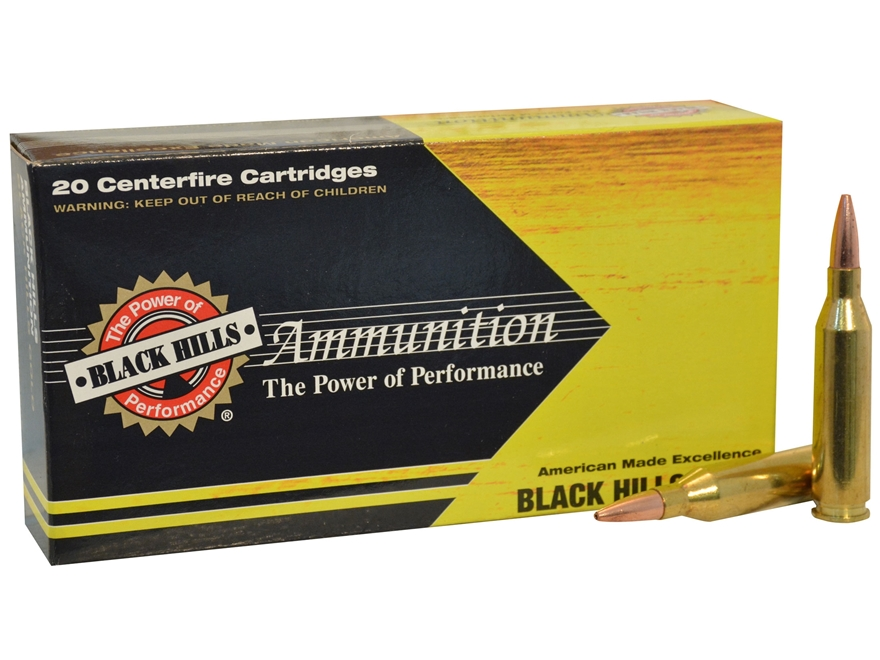 Black Hills Gold Ammunition 243 Winchester 62 Grain Barnes Varmint Grenade Box of 20