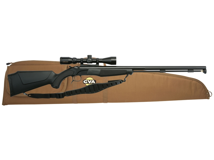 "CVA Accura PR Muzzleloading Rifle with KonusPro 3-10x44mm IR Scope 50 Caliber 28"" Flute..."