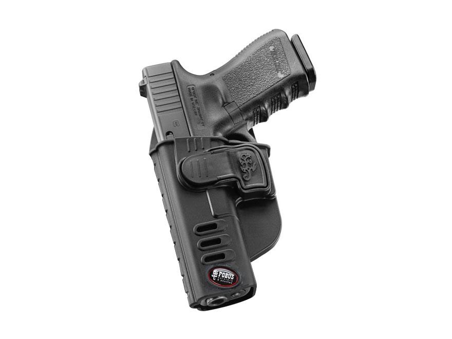 Fobus CH Rapid Release Level 2 Belt Holster Glock 17, 19, 22, 23, 31, 32, 34, 35 Polyme...