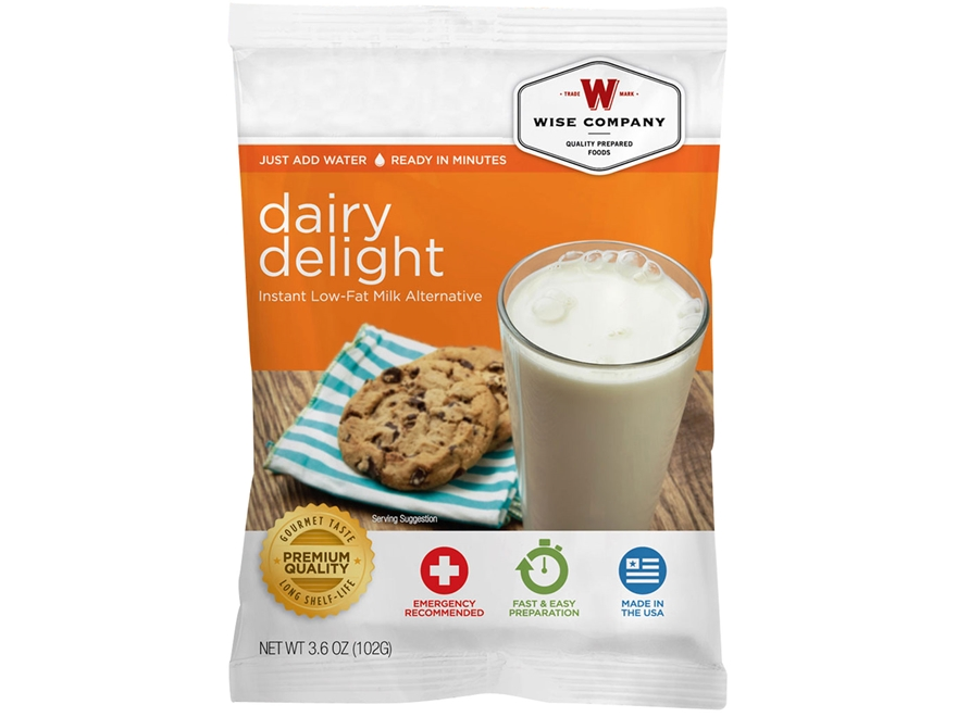 Wise Company Long Term 25 Year 4 Serving Dairy Delight Freeze Dried Food
