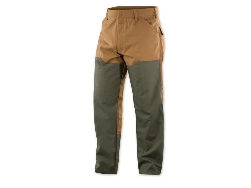 Browning Men's Pheasants Forever Upland Pants Cotton Canvas Field Tan and Loden