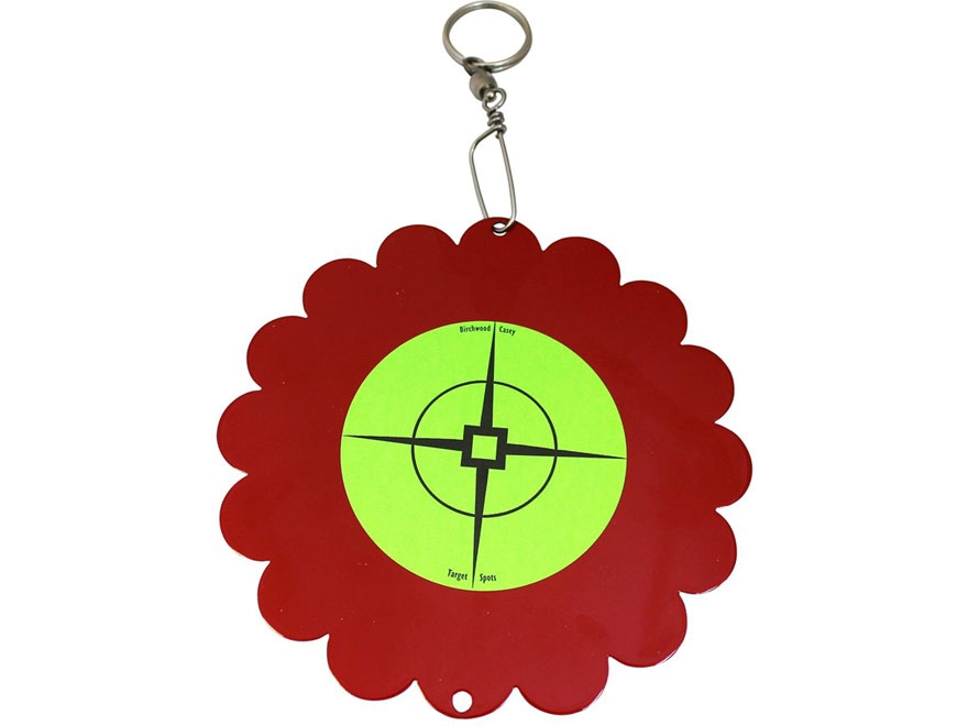 Birchwood Casey Shoot-N-Spin Airgun Target Steel Red