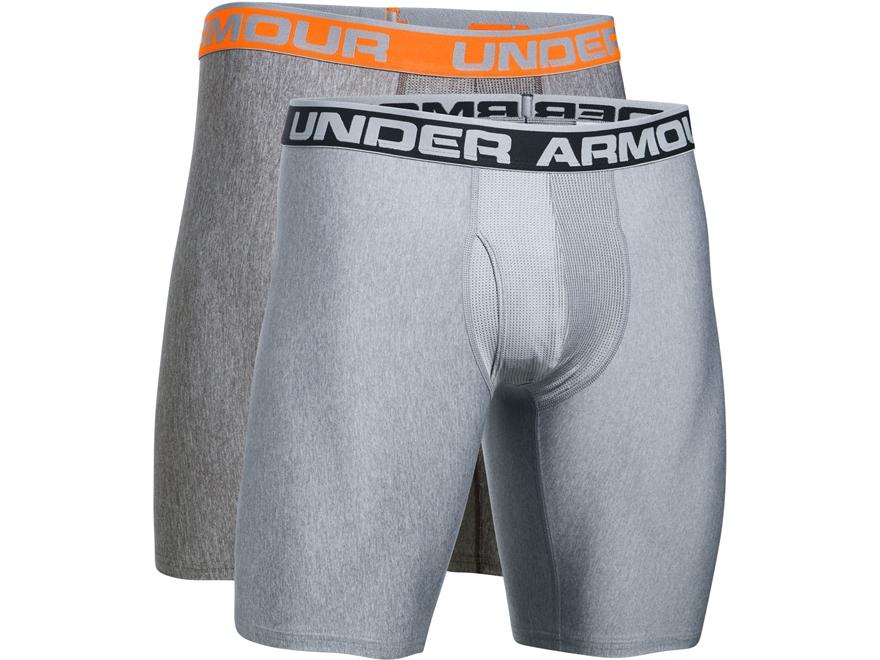 "Under Armour Men's 9"" Original Boxerjock Underwear Synthetic Blend Pack of 2"