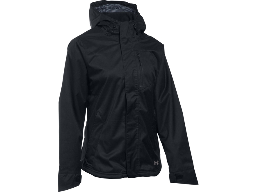 Under Armour Women's UA ColdGear Infrared Sienna 3-in-1 Insulated Jacket Polyester Blac...