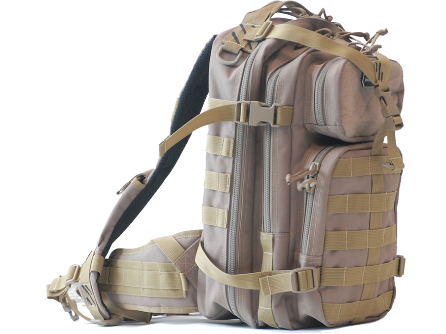 G.P.S. Tactical Bugout Backpack Loaded Nylon Black