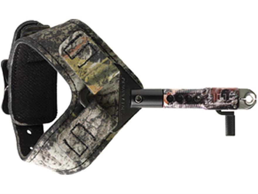 Scott Archery Sabertooth Bow Release Buckle Wrist Strap Mossy Oak Break-Up Camo