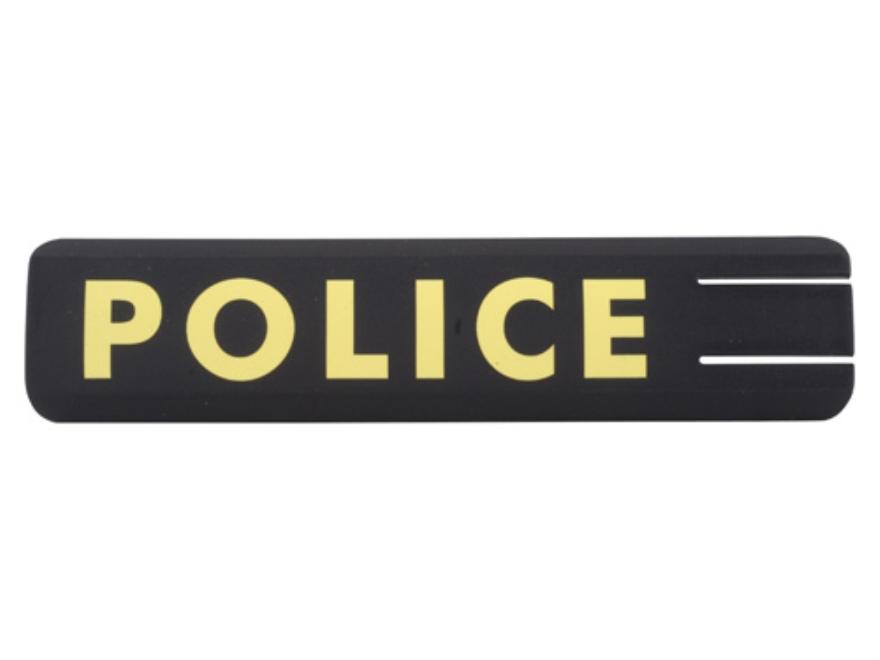ERGO Full Profile Police Rail Cover Set of 2 Polymer Black