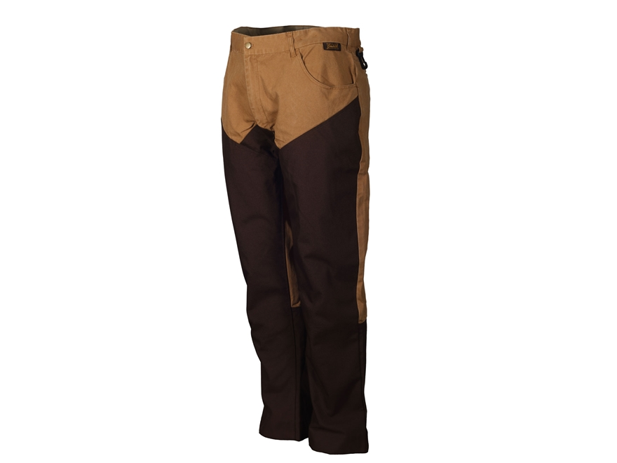 Gamehide Men's Briar Proof Pants Polyester and Nylon Marsh Brown