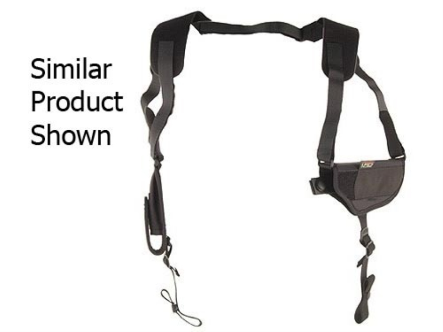 Uncle Mike's Pro-Pak Horizontal Shoulder Holster Ambidextrous Medium Frame Semi-Automat...