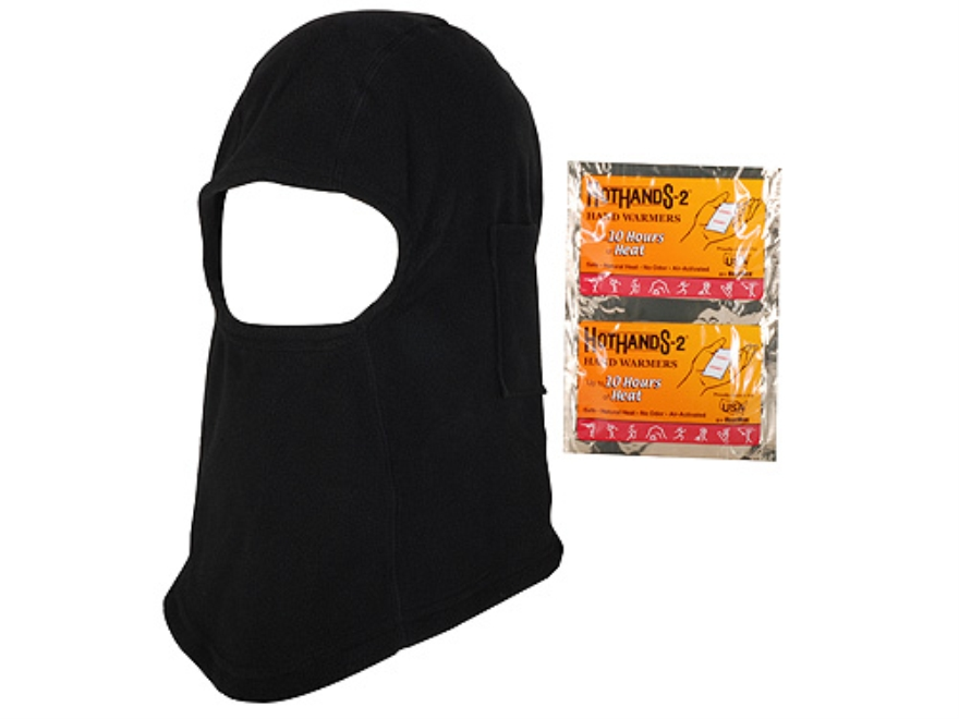 HotHands Heated Balaclava Synthetic Blend Black