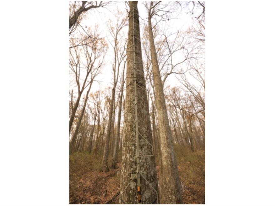 Summit SwifTree DTS 17' Treestand Climbing Sticks Steel Brown
