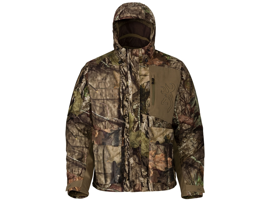 Browning Men's Hell's Canyon BTU Insulated Scent Control Jacket Polyester Mossy Oak Bre...