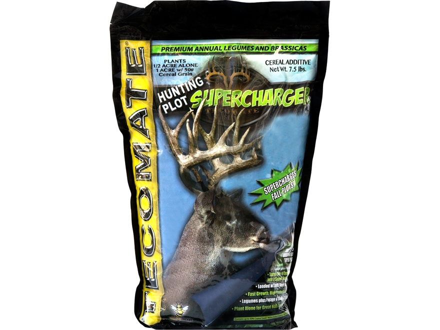 Tecomate Hunting Plot Supercharger Annual Food Plot Seed 7.5 lb