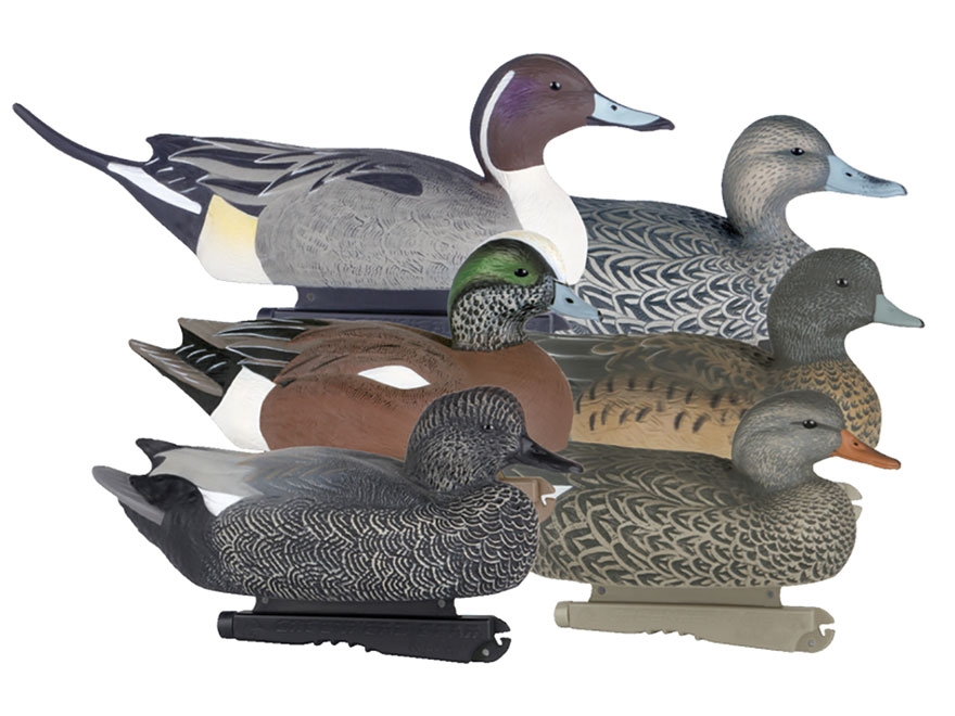GHG Pro-Grade Puddler Duck Decoy Pack of 6