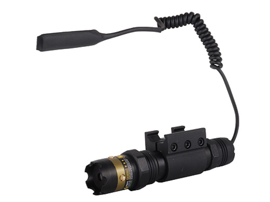 UTG TS Platform Green Laser Sight with Batteries and Weaver-Style Ring Mount Matte