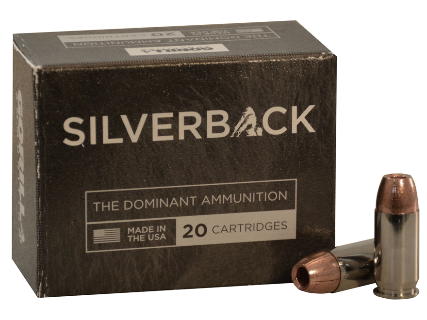Gorilla Silverback Self Defense Ammunition 45 ACP 230 Grain Hollow Point Copper Lead-Free