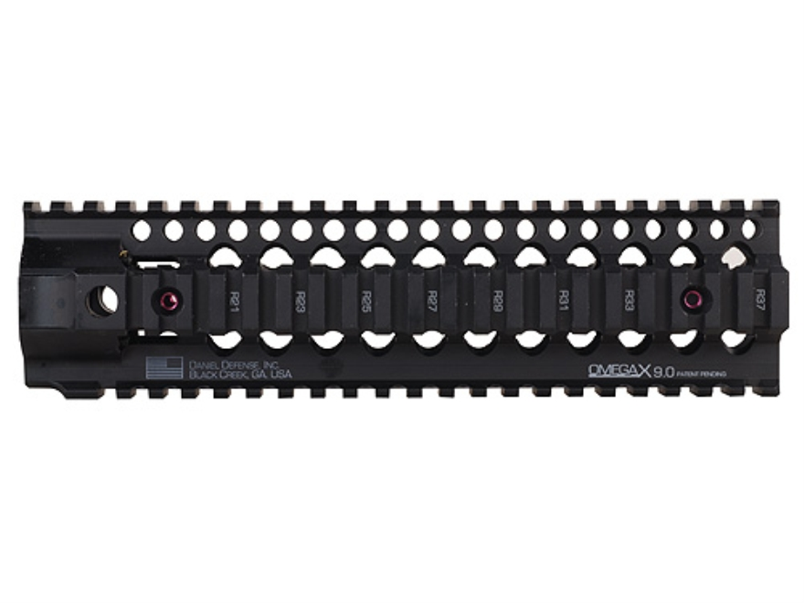 Daniel Defense Omega X 12.0 Free Float Tube Handguard Quad Rail AR-15 Rifle Length Alum...